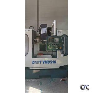 entru de frezare cu CNC DART VMC 510