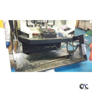 LUCRARI DE CURATIRE SI MENTENANTA CENTRU DE FREZAT CU CNC - MAZAK VARIAXIS 630 -5X 20
